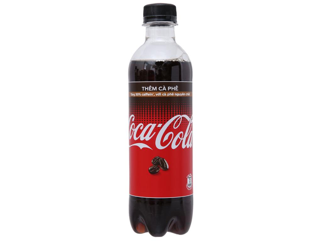6 chai nước ngọt Coca Cola thêm cà phê 390ml 2