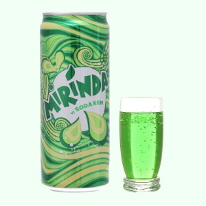 Nước ngọt Mirinda vị soda kem 330ml