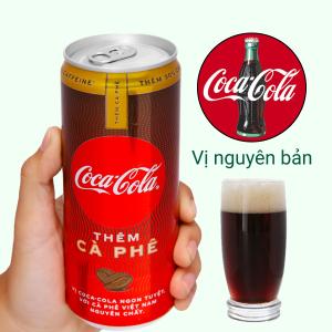 Nước ngọt Coca Cola thêm cà phê 330ml