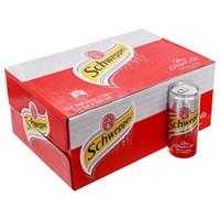 Thùng nước Soda Schweppes dry ginger ale lon 330ml (24 lon)
