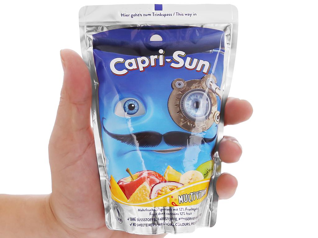 Nước ép trái cây Capri-Sun hỗn hợp 200ml 4