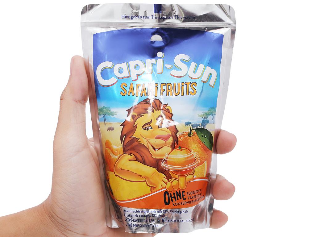 Nước ép trái cây Capri-Sun Safari Fruits hỗn hợp 200ml 5