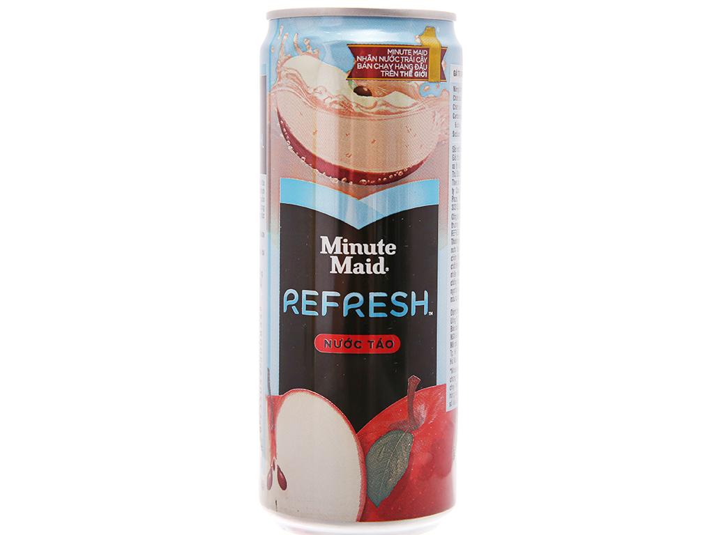 Nước táo Minute Maid Refresh 330ml 1