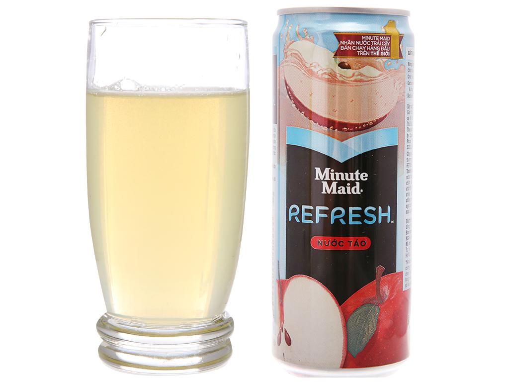 Nước táo Minute Maid Refresh 330ml 4