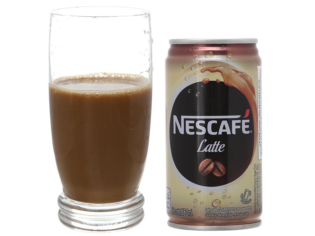 Cà phê đen NesCafé Latte 180ml 4