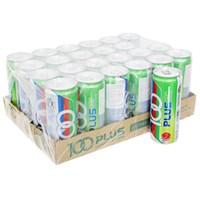Thùng nước ngọt có ga Isotonic drink 100Plus hương Chanh lon 325ml (24 lon)