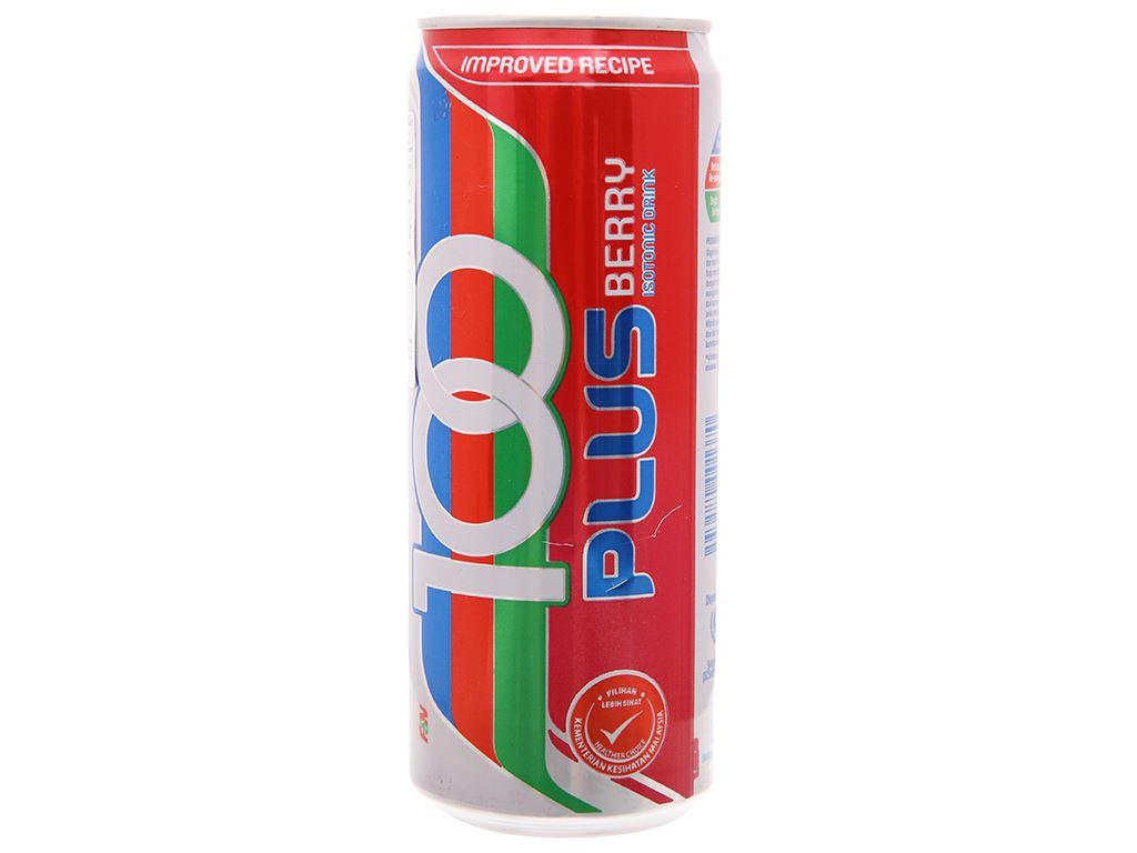 Nước ngọt 100Plus hương dâu 325ml 2