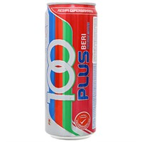 Nước ngọt có ga Isotonic drink 100Plus hương Dâu lon 325ml