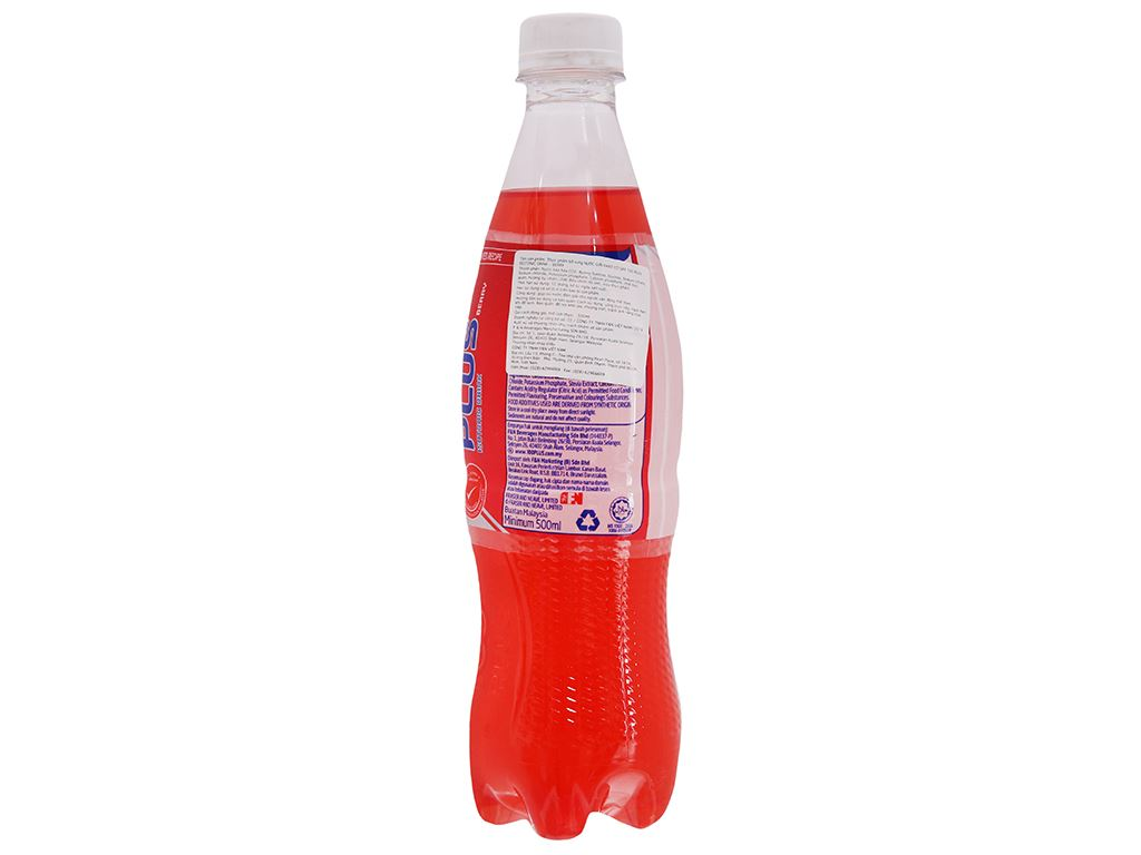 Nước ngọt 100Plus hương dâu 500ml 2