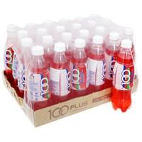 Thùng nước ngọt có ga Isotonic drink 100Plus hương Dâu chai 500ml (24 chai)