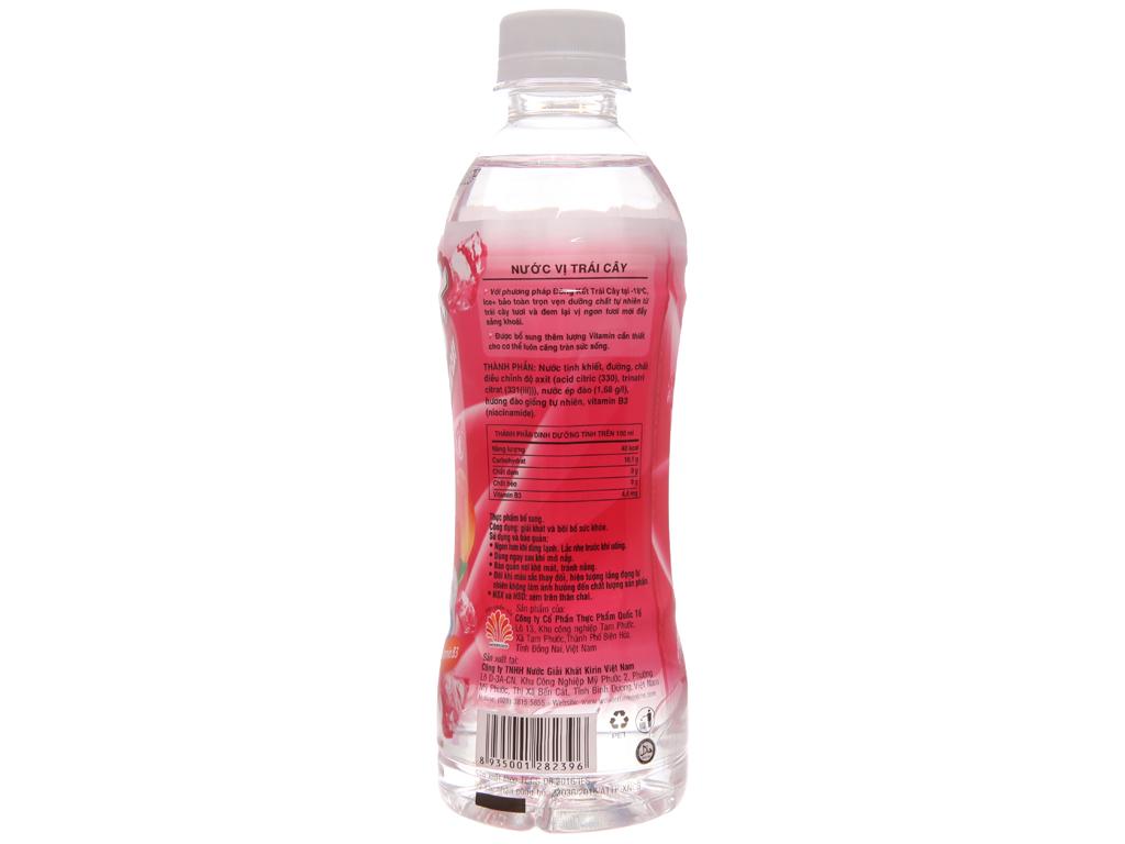 Nước trái cây Ice+ vị đào 345ml 2