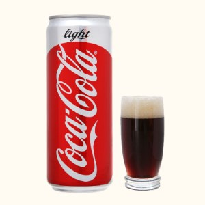 Nước ngọt Coca Cola Light 330ml