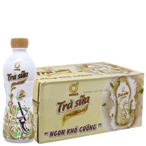 24 chai trà sữa Macchiato Không Độ 268ml