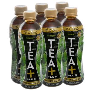 6 chai trà Ô Long Tea Plus 350ml