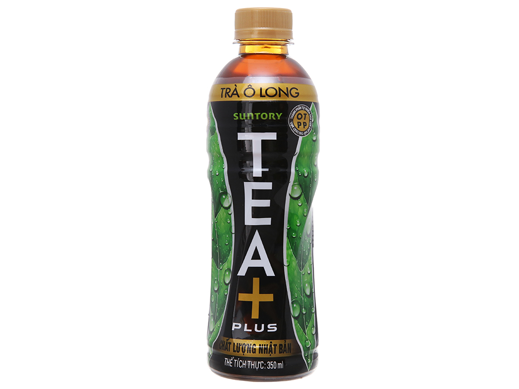6 chai trà ô long Tea Plus 350ml 3