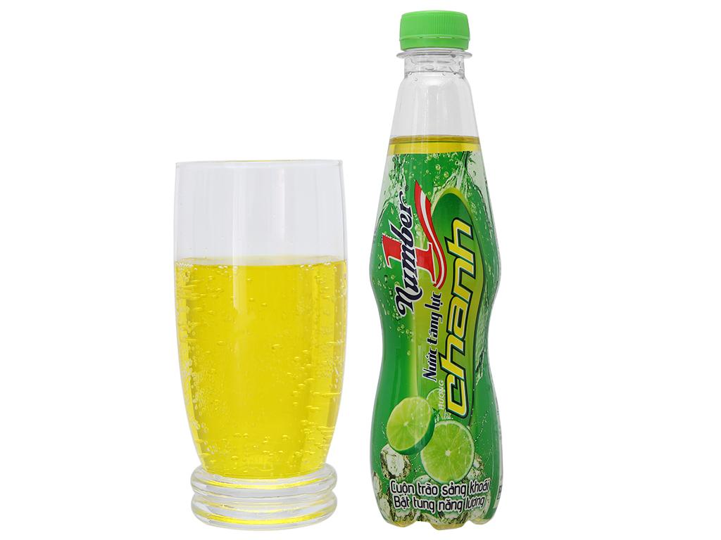 Thùng 24 chai nước tăng lực Number1 vị chanh 330ml 5