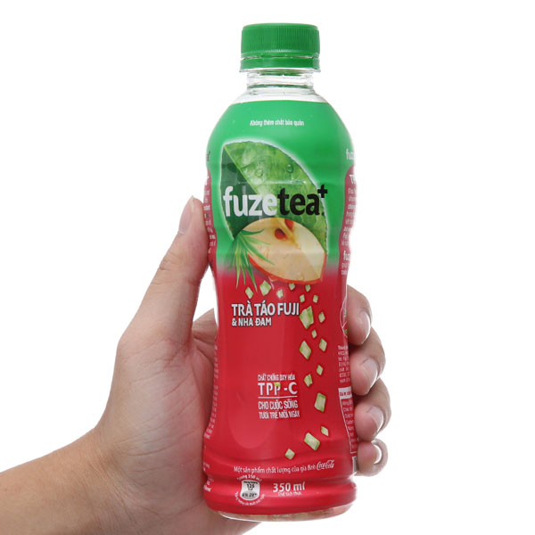 Trà táo Fuji và nha đam Fuze Tea+ 350ml