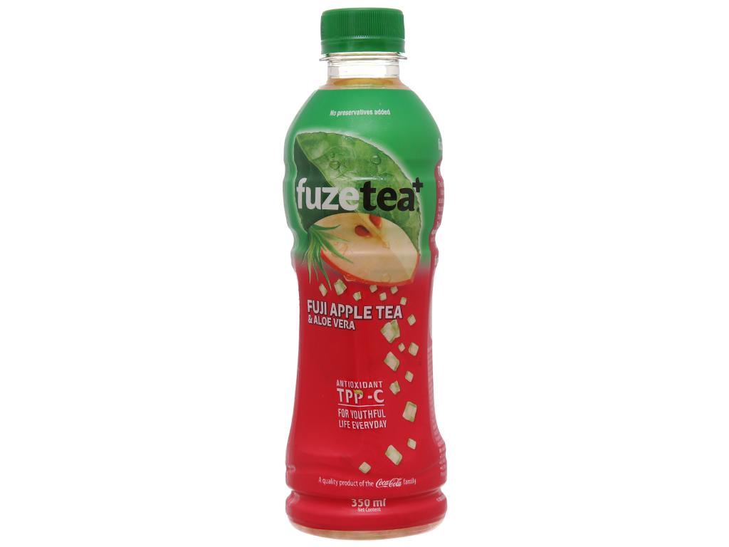 Thùng 24 chai trà táo Fuji và nha đam Fuze Tea+ 350ml 2