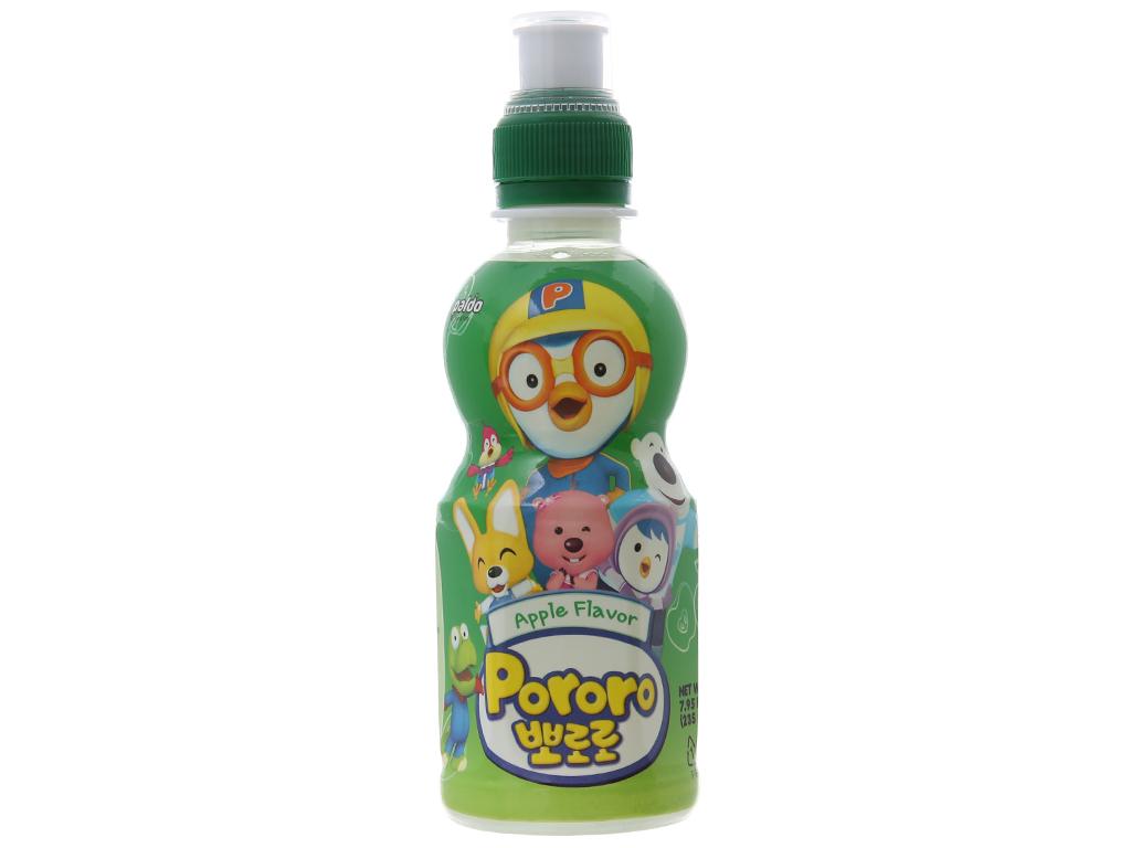 Nước trái cây Pororo vị táo 235ml 1