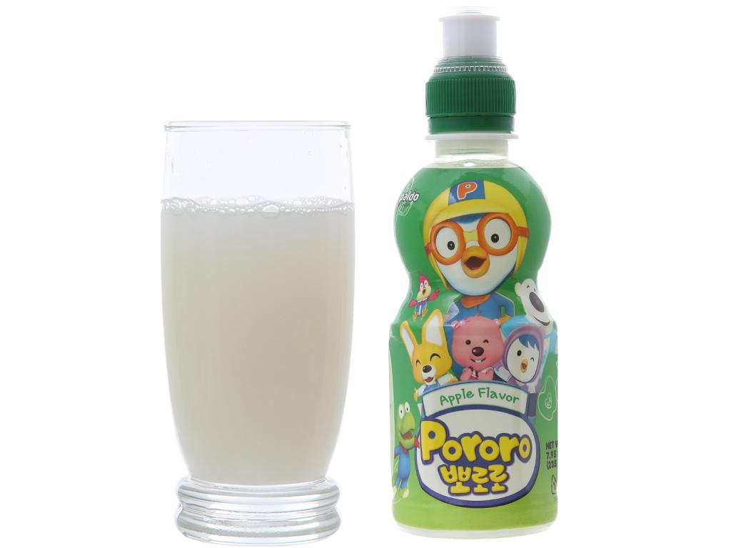 Nước trái cây Pororo vị táo 235ml 3
