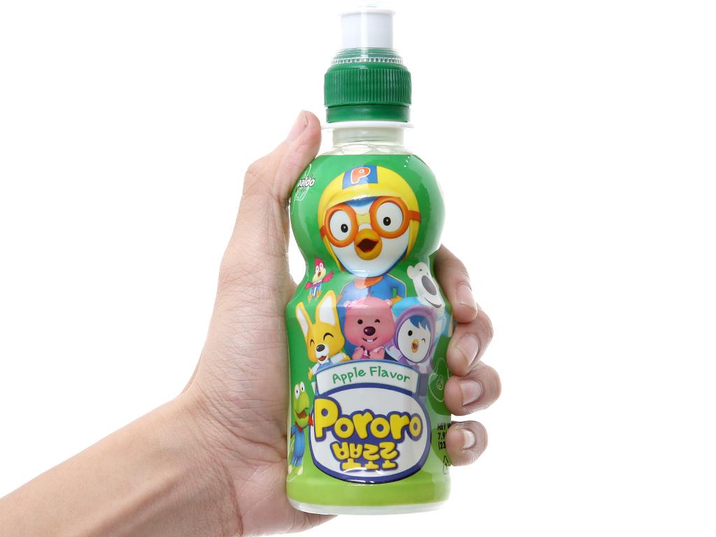 Nước trái cây Pororo vị táo 235ml 4