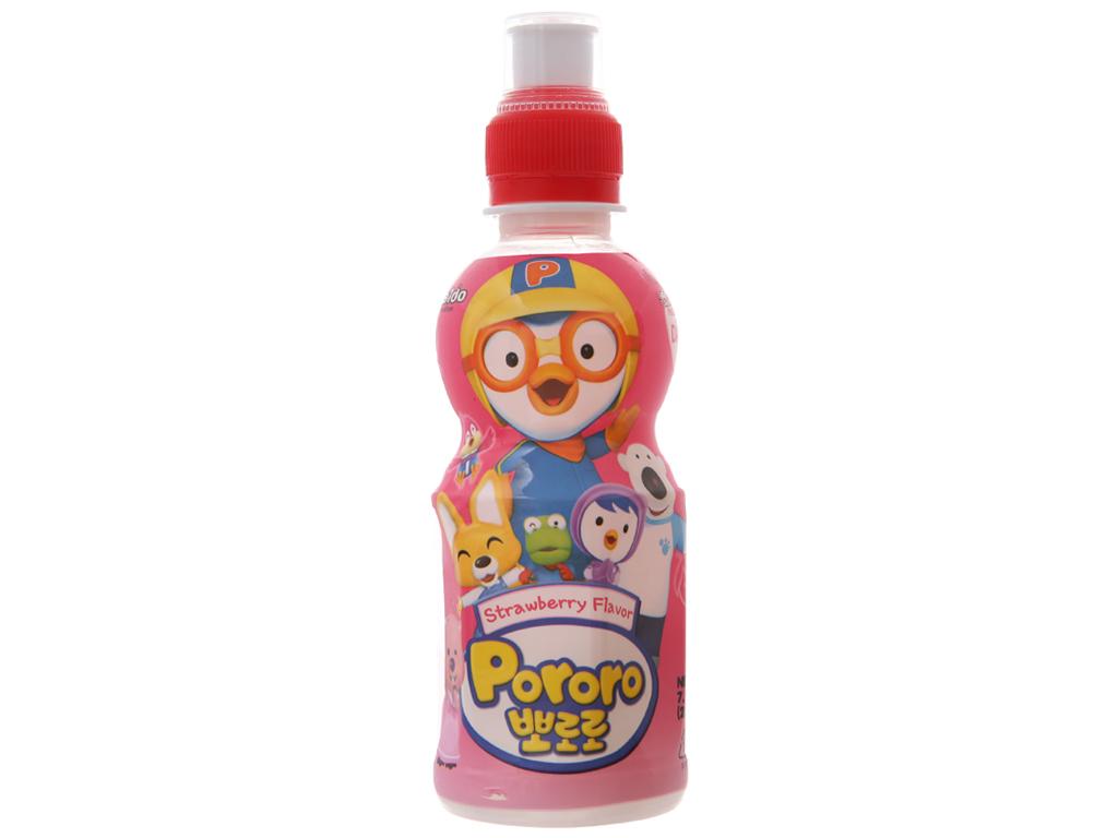 Nước trái cây Pororo vị dâu 235ml 1