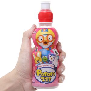 Nước trái cây Pororo vị dâu 235ml