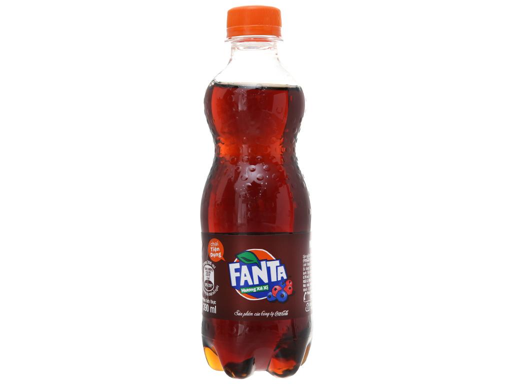 Thùng 24 chai nước ngọt Fanta hương xá xị 390ml 2