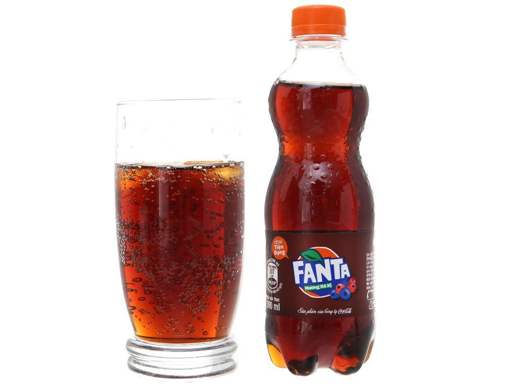 Thùng 24 chai nước ngọt Fanta hương xá xị 390ml 3