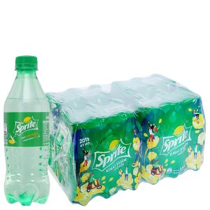 Thùng 24 chai nước ngọt Sprite vị chanh 390ml