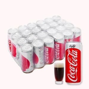24 lon nước ngọt Coca Cola Light 330ml