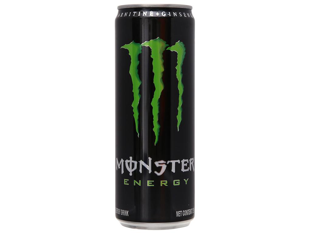 Thùng 24 lon nước tăng lực Monster Energy 355ml 1