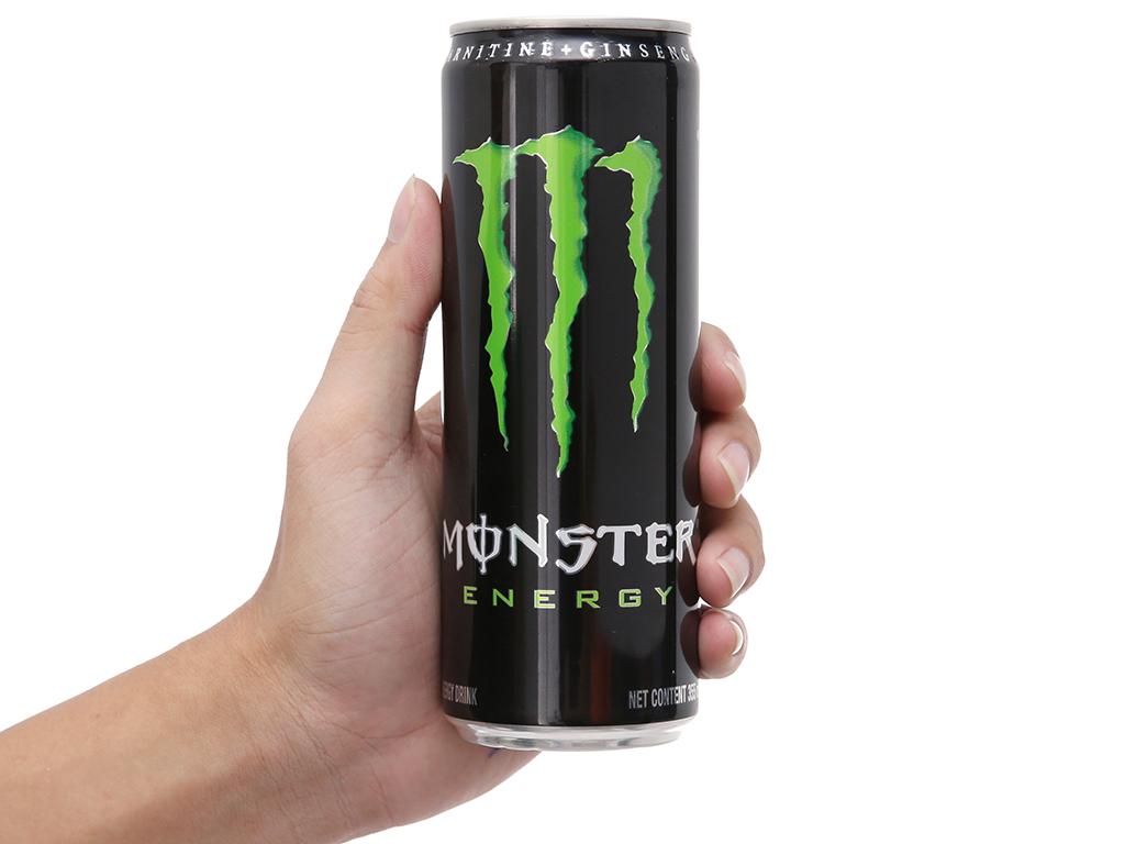 Thùng 24 lon nước tăng lực Monster Energy 355ml 4