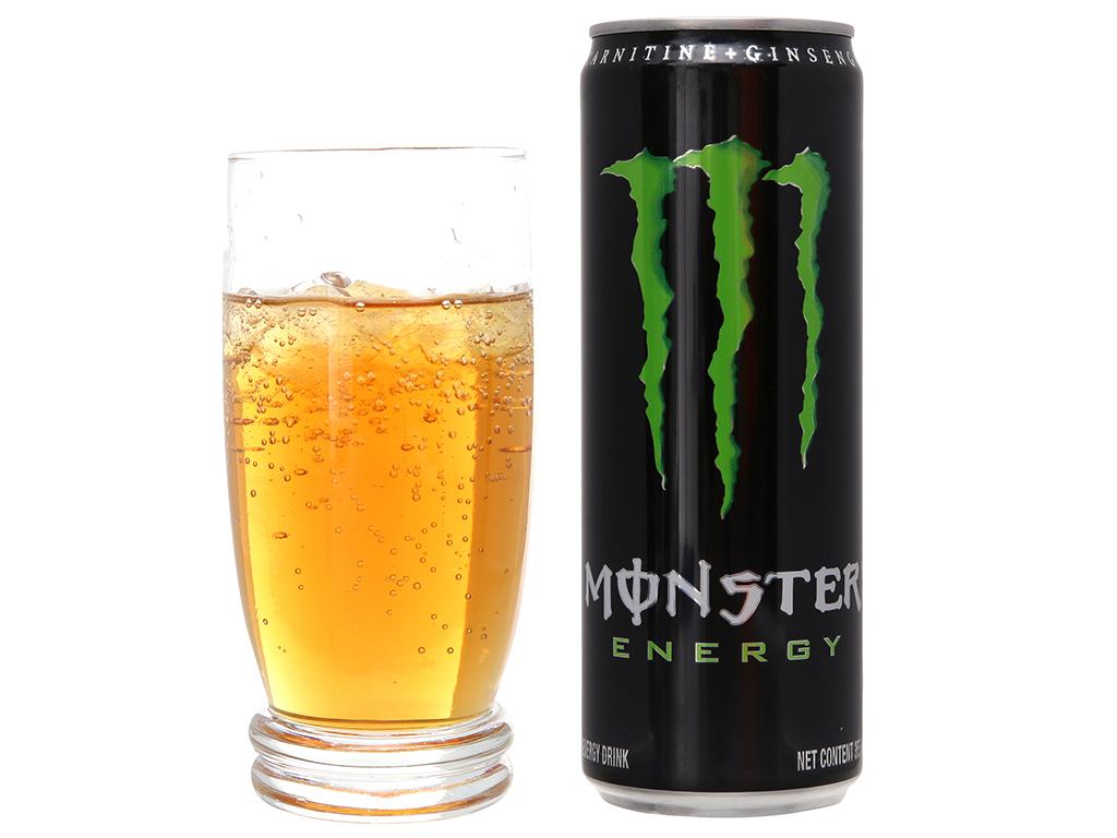 Thùng 24 lon nước tăng lực Monster Energy 355ml 3