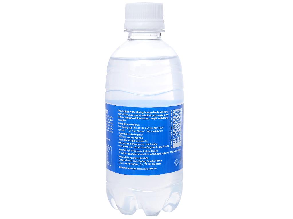 Thùng 24 chai nước khoáng i-on Pocari Sweat 350ml 8