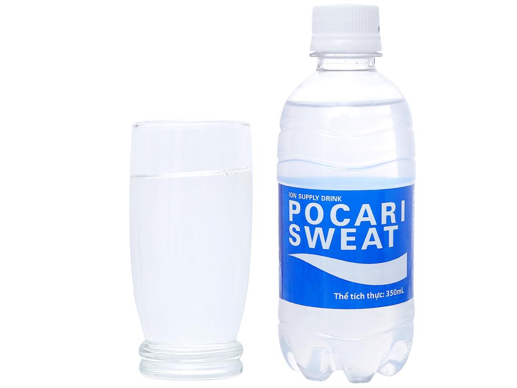 Thùng 24 chai nước khoáng i-on Pocari Sweat 350ml 10