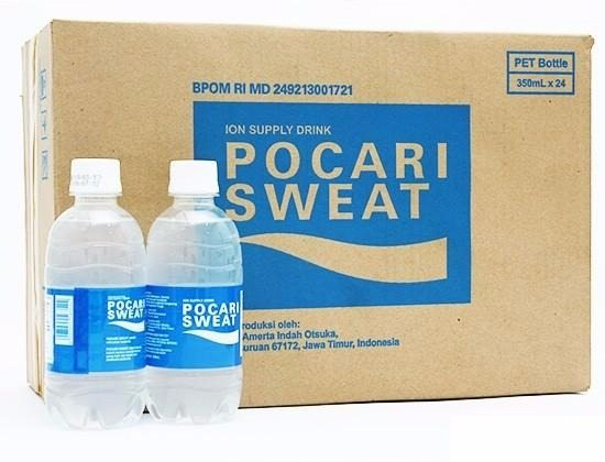 Thùng 24 chai nước khoáng i-on Pocari Sweat 350ml 1