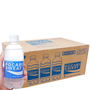 Thùng 24 chai nước khoáng i-on Pocari Sweat 350ml