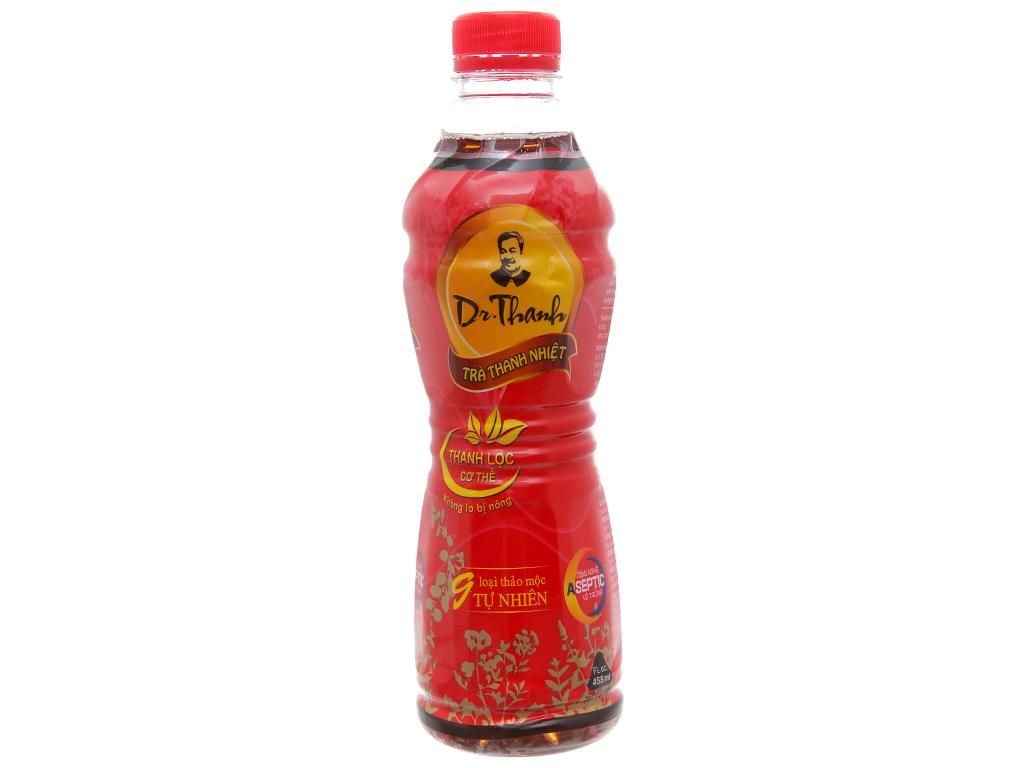Thùng 24 chai trà thanh nhiệt Dr.Thanh 455ml 2