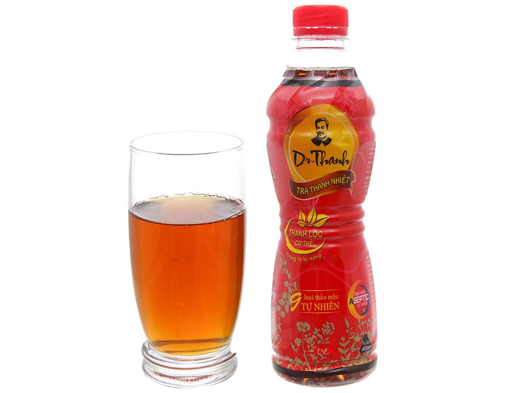 Thùng 24 chai trà thanh nhiệt Dr.Thanh 455ml 4