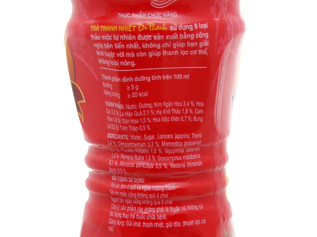 Thùng 24 chai trà thanh nhiệt Dr.Thanh 455ml 3