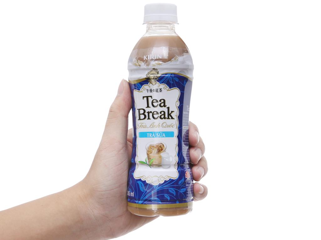 Thùng 24 chai trà sữa Kirin Tea Break 345ml 6