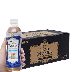 Thùng 24 chai trà sữa Kirin Tea Break 345ml
