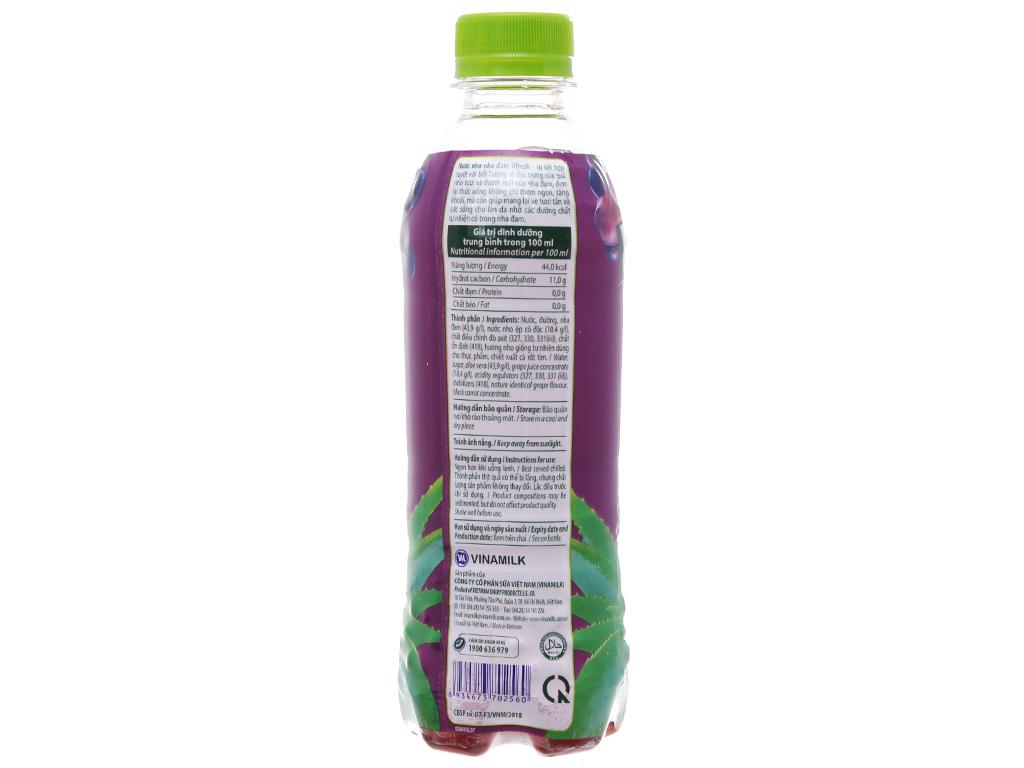 Thùng 24 chai nước nho & nha đam Vfresh 350ml 3