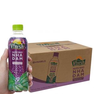 Thùng 24 chai nước nho & nha đam Vfresh 350ml