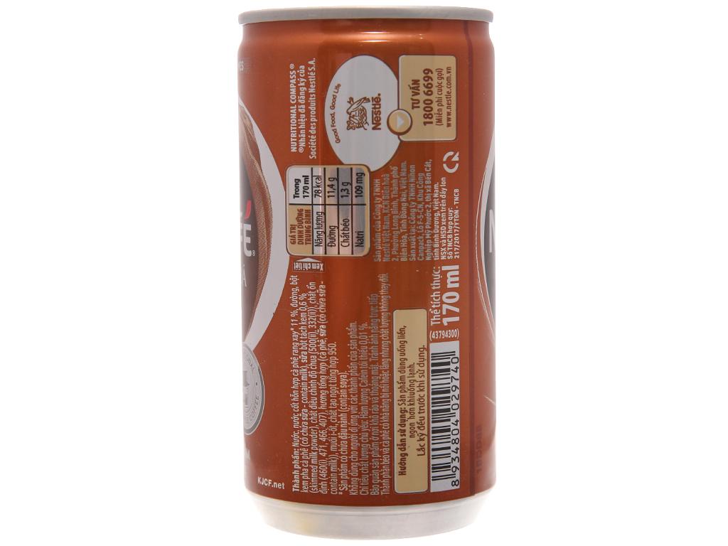 Cà phê sữa đá NesCafé 170ml 2