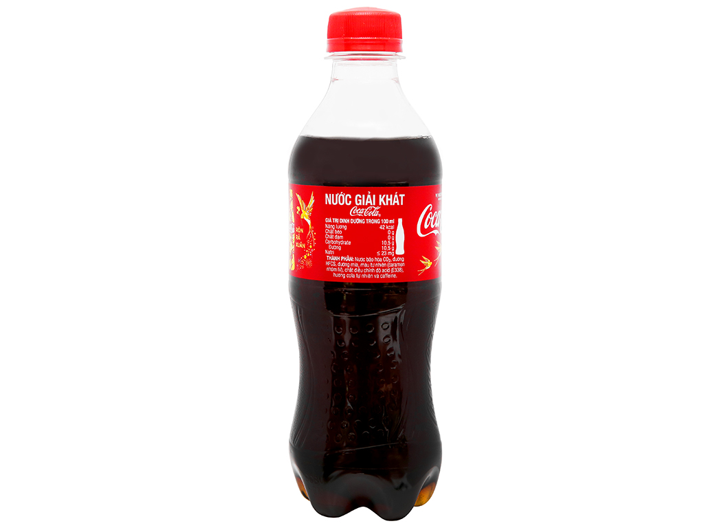 Thùng 24 chai nước ngọt Coca Cola 390ml 9