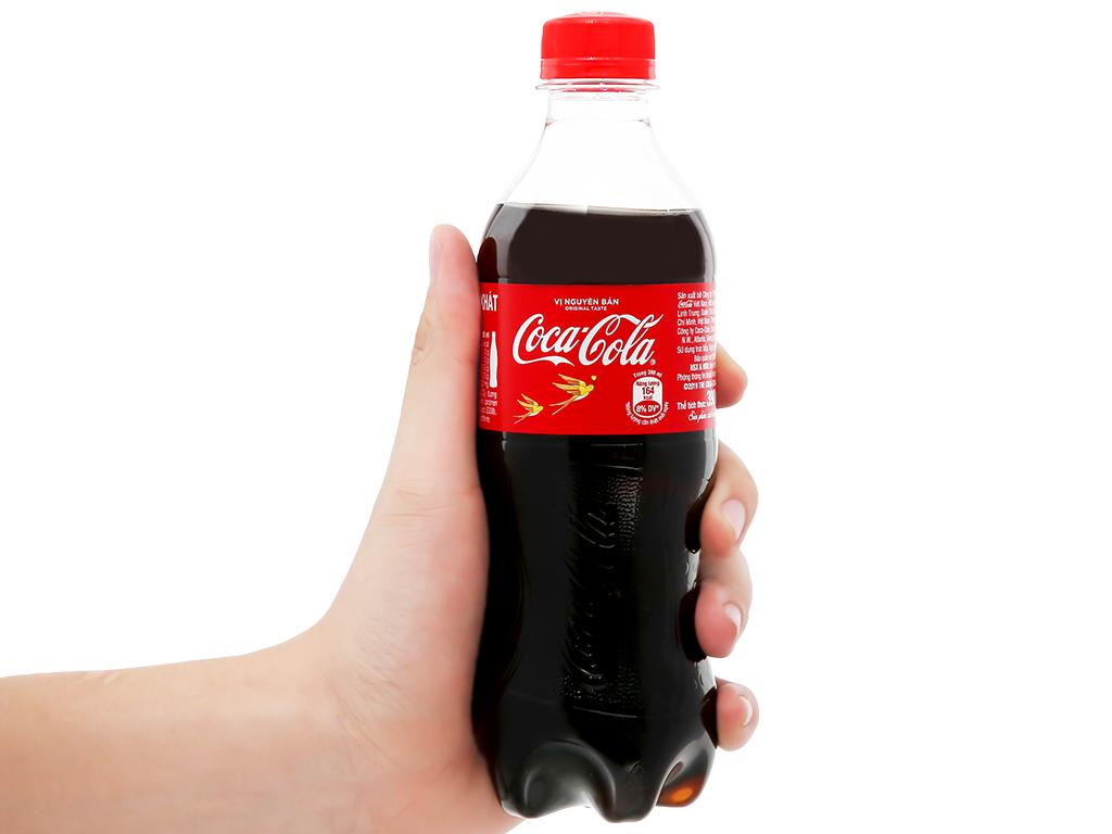 Thùng 24 chai nước ngọt Coca Cola 390ml 11