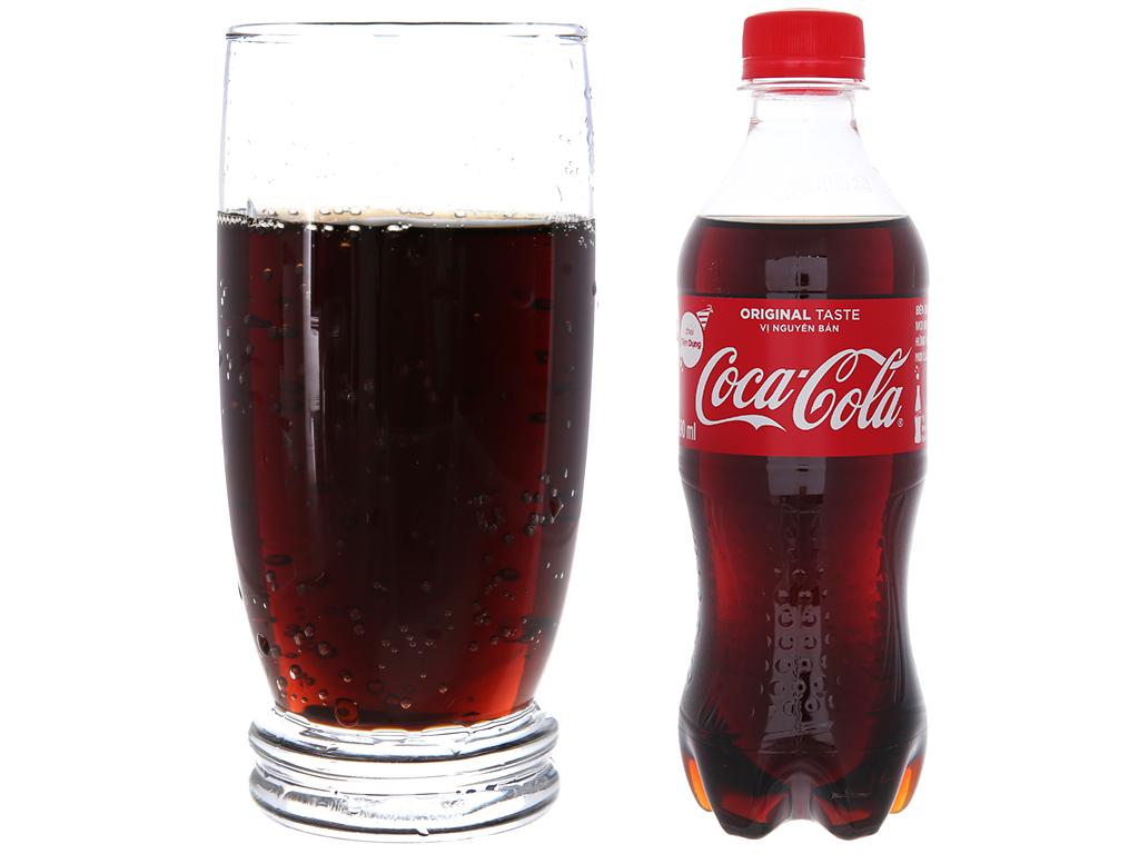 24 chai nước ngọt Coca Cola 390ml 3