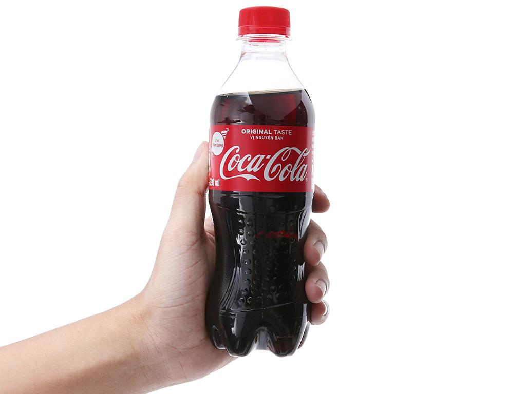 24 chai nước ngọt Coca Cola 390ml 4
